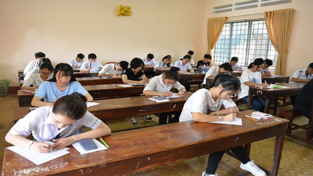 Đã rà soát xong điểm thi môn Toán và Lịch sử tại Lạng Sơn